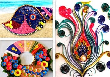 Brilliant Quilling Wall Art Ideas