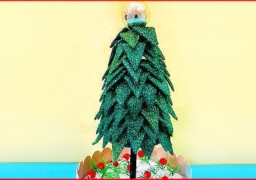 Christmas Tree From Fryums