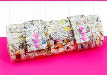 How to Make Newspaper Handbag?