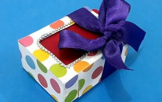 Gift Box Ideas using Waste Cardboard