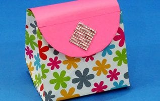 DIY Paper Purse for Gift