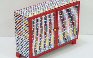DIY Cardboard Organiser