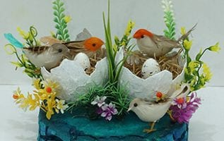 Birds Nest Home Decor