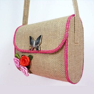 Jute Bag for Party Fashion by StylEnrich