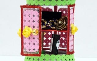 Plastic Bottle Jewellery Holder Best Out of Waste