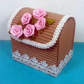 Cardboard Organizer for stationery and jewellery